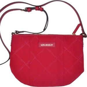 Vera Bradley Bags - Vera Bradley Poly Preppy CrossBody Purse Tango Red